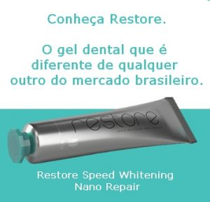 Restore gel dental clareador